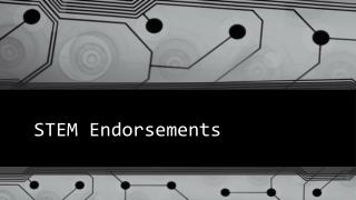 STEM Endorsements