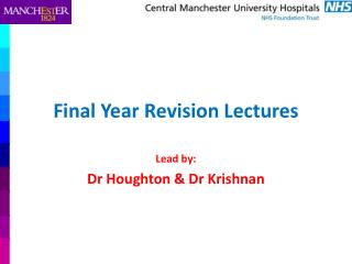 Final Year Revision Lectures