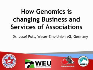 How Genomics is changing Business and Services of Associations