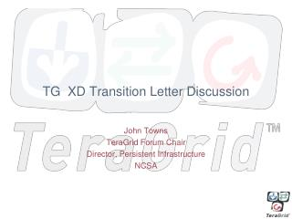 TG  XD Transition Letter Discussion