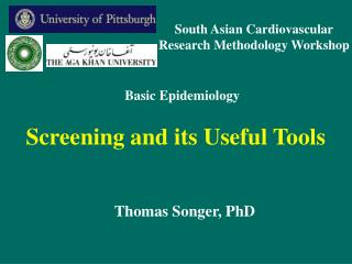 Screening and its Useful Tools