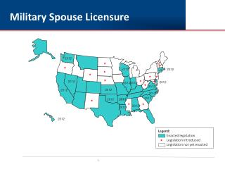 Military Spouse  Licensure