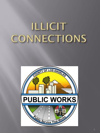 ILLICIT  CONNECTIONS