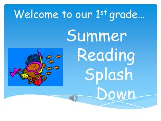 Summer  Reading       Splash         Down