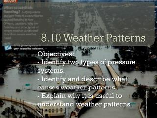 8.10 Weather Patterns