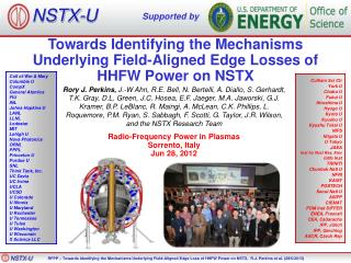 Towards Identifying the Mechanisms Underlying Field-Aligned Edge Losses of HHFW Power on NSTX