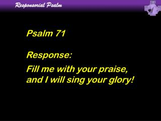 Responsorial Psalm