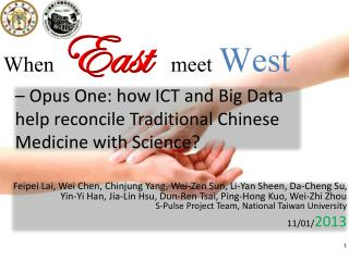 When East meet West