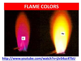 FLAME COLORS