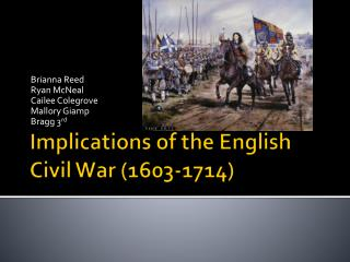 Implications of the English Civil War (1603-1714)