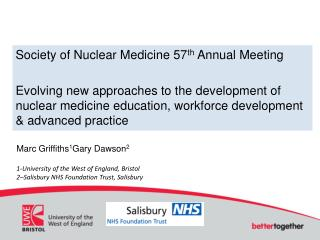 Society of Nuclear Medicine 57 th  Annual Meeting