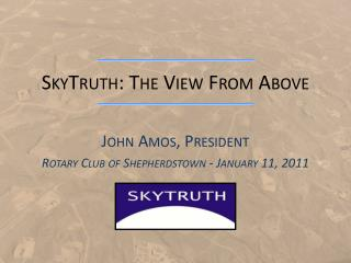 SkyTruth : The View From Above