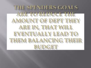 Balancing the Spender Debt