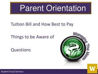 Tuition Bill and How Best to Pay Things to be Aware of Questions