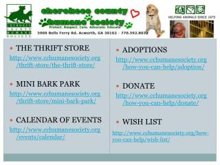 THE THRIFT STORE cchumanesociety/thrift-store/the-thrift-store/ MINI BARK PARK