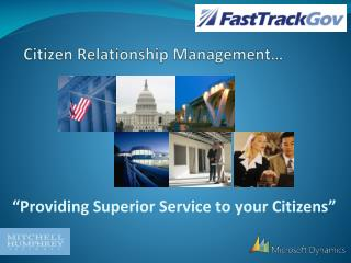 Citizen Relationship Management…