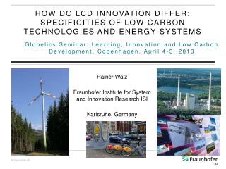 How do LCD innovation differ: specificities of low carbon technologies and energy systems