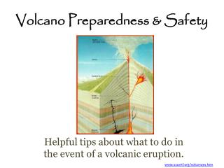 Volcano Preparedness & Safety
