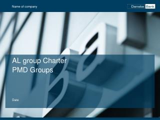 AL group  Charter PMD Groups