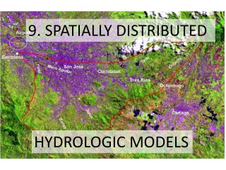 9. SPATIALLY DISTRIBUTED