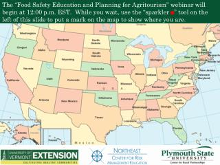 Food Safety Education and Planning for  Agritourism