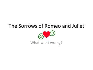 The Sorrows of Romeo and Juliet