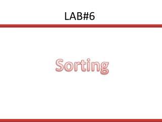 LAB#6