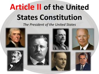 Article II of the United States Constitution
