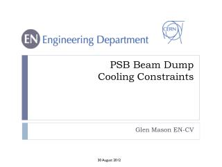 PSB Beam Dump Cooling Constraints