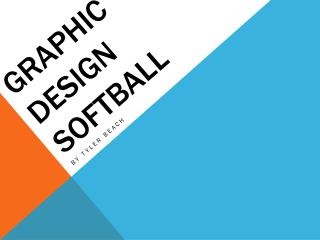 Graphic design softball