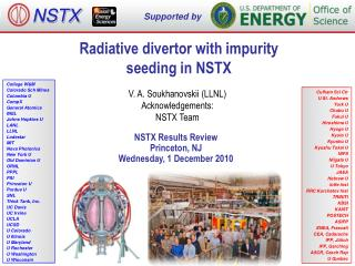 Radiative divertor with impurity seeding in NSTX