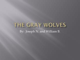 The Gray Wolves