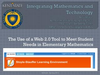 The Use of a Web 2.0 Tool to Meet Student Needs in Elementary Mathematics