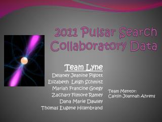 2011 Pulsar Search Collaboratory Data