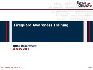 Fireguard Awareness Training