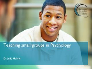 Teaching small groups in Psychology