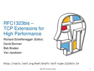 RFC1323bis  – TCP Extensions for High Performance