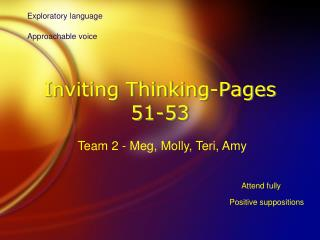 Inviting Thinking-Pages 51-53