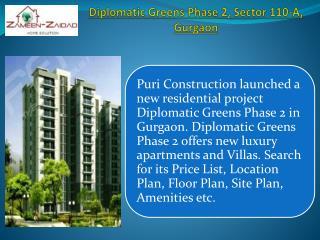 Diplomatic Greens Phase 2 Gurgaon