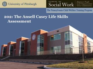 202: The Ansell Casey Life Skills Assessment