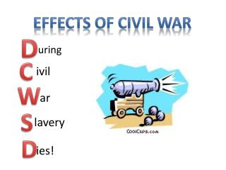 Effects of civil war