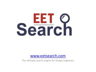 eetsearch The ultimate search engine for Design Engineers