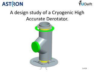 A design study of a Cryogenic High Accurate Derotator.