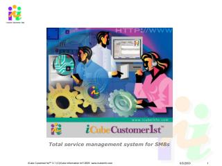 Total service management system for SMBs