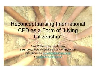 "Reconceptualising International CPD as a Form of ""Living Citizenship"""