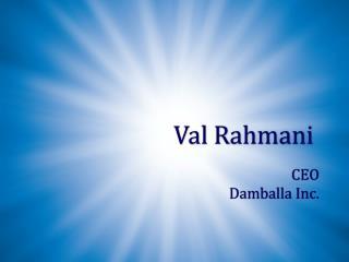 Val Rahmani