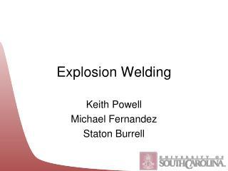 Explosion Welding