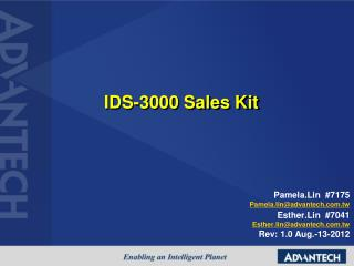 IDS-3000 Sales Kit