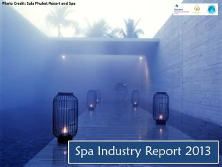 Spa Industry Report 2013