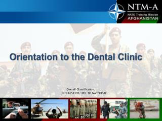 Orientation to the Dental Clinic